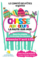 affiche chasse aux oeufs 2018