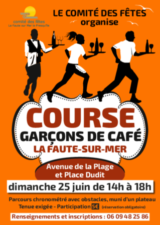 course garçon de café bulletin dinscription