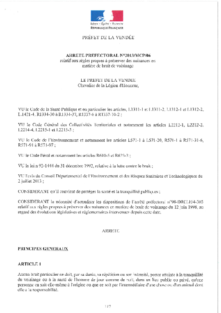 2013-07-12-arrete prefectoral bruit voisinage