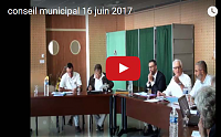 photo videoconseilmunicipal 16 juin 2017