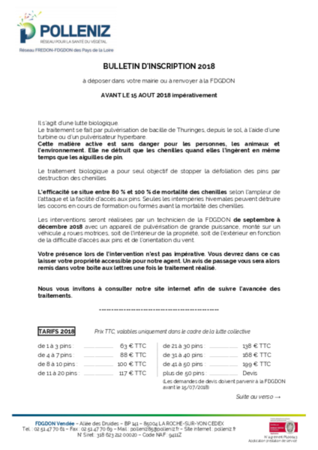 dd bulletin d inscription 2018 chenilles du pin 1805