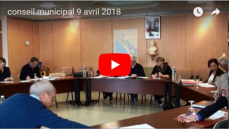 conseil municipal 9 avril photo