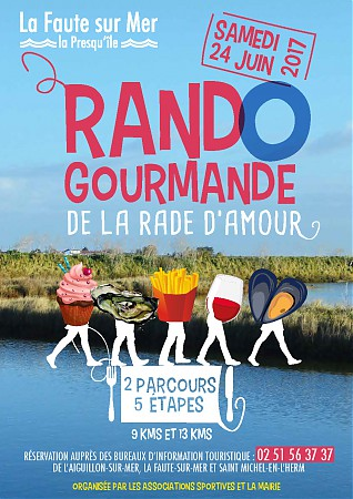 affiche a3 marche gourmande 2017red